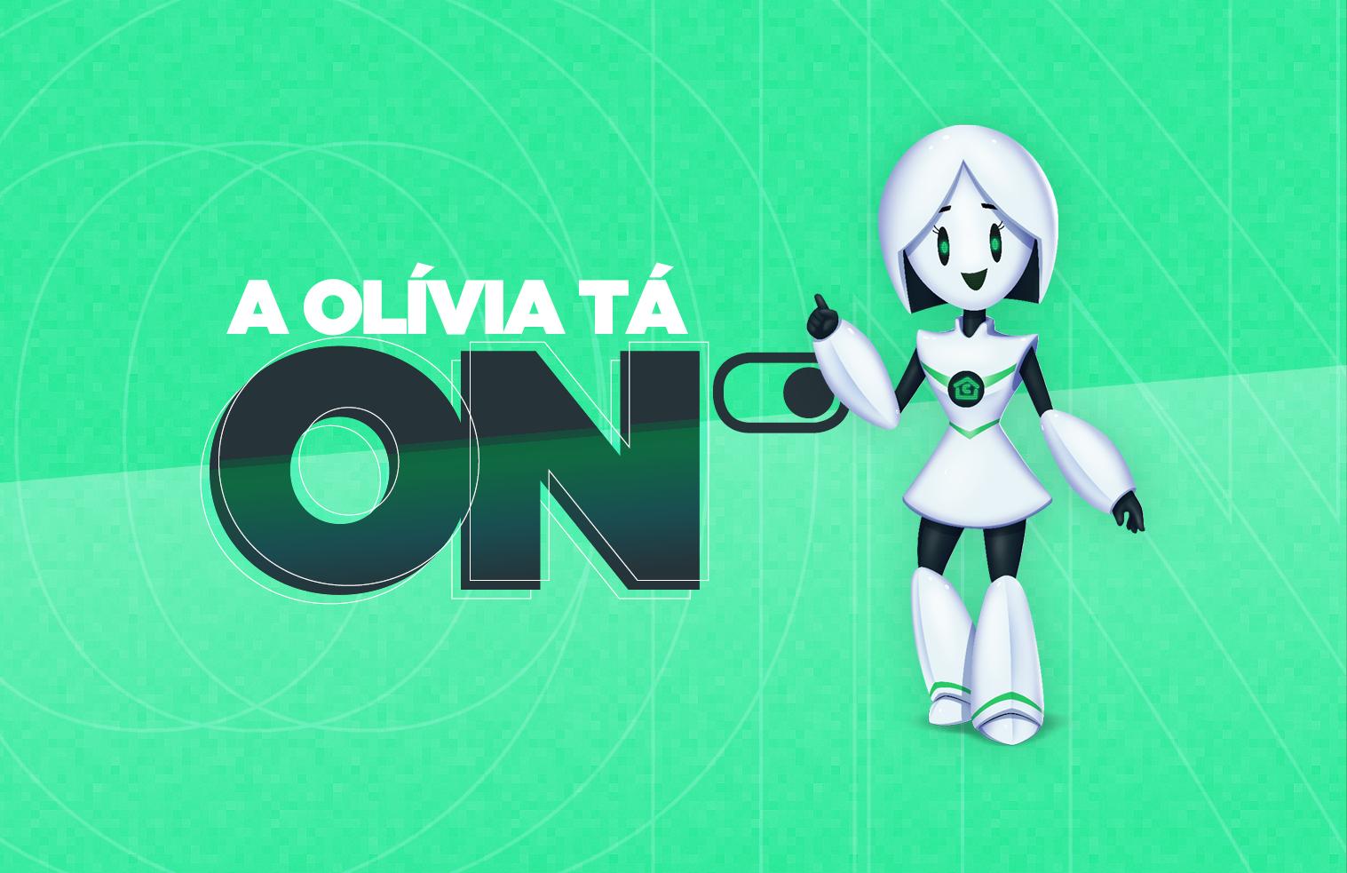 A Olívia tá ON!